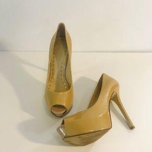 Women's Enzo Angiolini Tan Heels-Sz 8M
